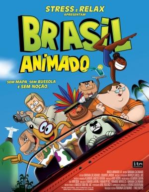 Brasil Animado 1 sheet front