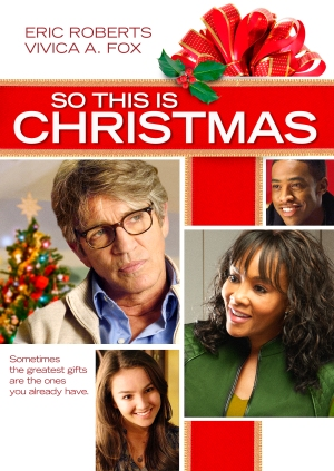So This is Christmas DVD art