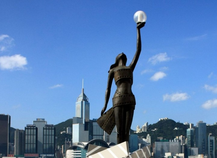 Hong Kong Film Awards Statue (source: www.hongkongfp.com)